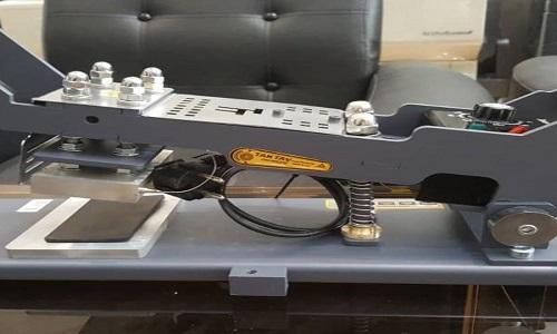 نمونه دستگاه طلاکوب دستی - دستگاه چاپ دستی