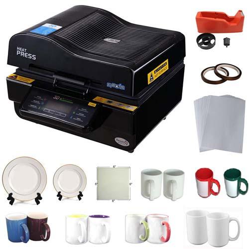 دستگاه سابلیمیشن دارای قابلیت چاپ سه بعدی