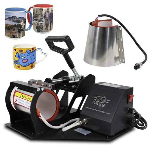 دستگاه چاپ سابلیمیشن بر روی لیوان های مختلف - قابل حمل و جابجایی