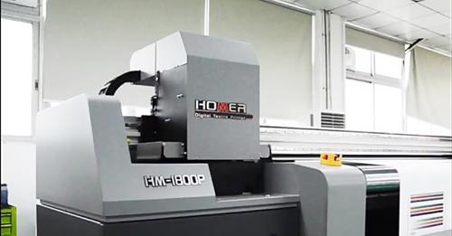 چاپ پارچه هومر 1800 - سیستم تمیز کننده هد به صورت اتوماتیک