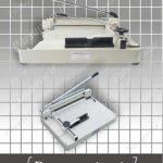 دستگاه برش قدرتی دستی مدل Ax-868 سایز A4 - کاغذ قابل استفاده برای یک برش 400 برگ کاغذ