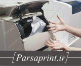 گیر کردن کاغذ در دستگاه کپی - مشکل رابج دستگاه کپی