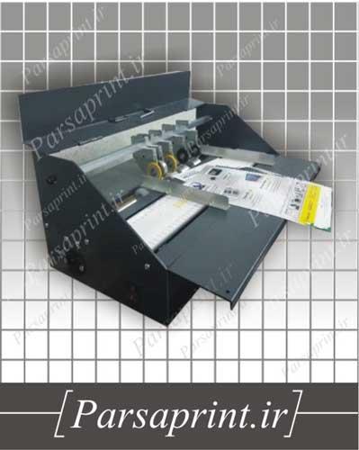 پرفراژ و خط تا همزمان برقی کنترل دار مدل Ax - تغذیه کاغذ به صورت دستی و تک برگ