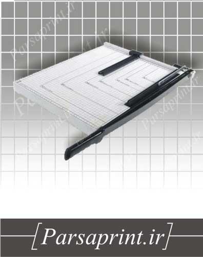 کاتر کاغذ دستی رومیزی سایز A5 مدل Ax-268 - تیغه ضد زنگ فولادی